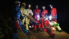 Jaskinie Śpiących Rycerzy- Wręczenie Kart Taternika Jaskiniowego