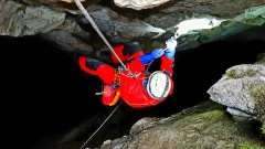Jaskinia Pod Wantą - wyjście kursowe