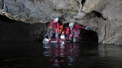 Jaskinia Kasprowa Niżnia - Podstawy Ratownictwa Jaskiniowego