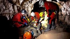 Jaskinia Kasprowa Niżna - Manewry z Ratownictwa Jaskiniowego